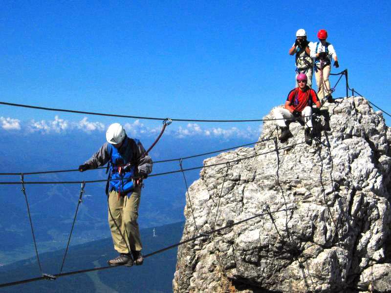 Klettersteig Dachstein : Klettersteige in ramsau am dachstein
